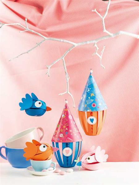 Livre - Frühlingshafte Paper Balls