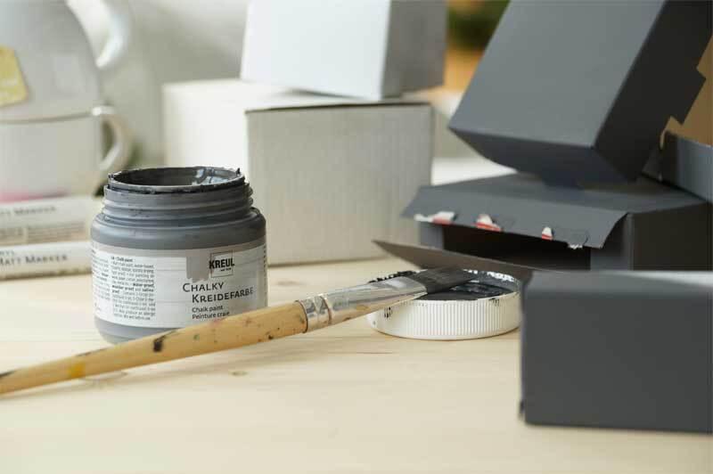 Chalky krijtverf - 500 ml, volcanic gray