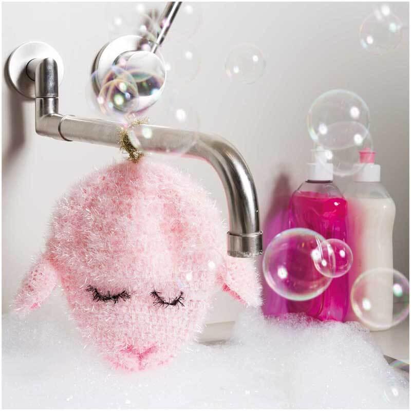 Rico Creative Bubble garen - 50 g, roze