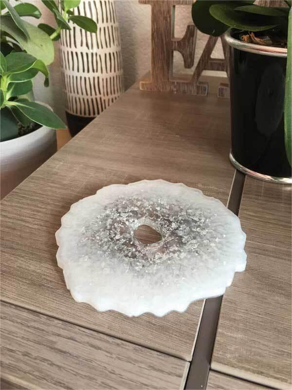 Siliconen gietvorm - geoden / onderzetters