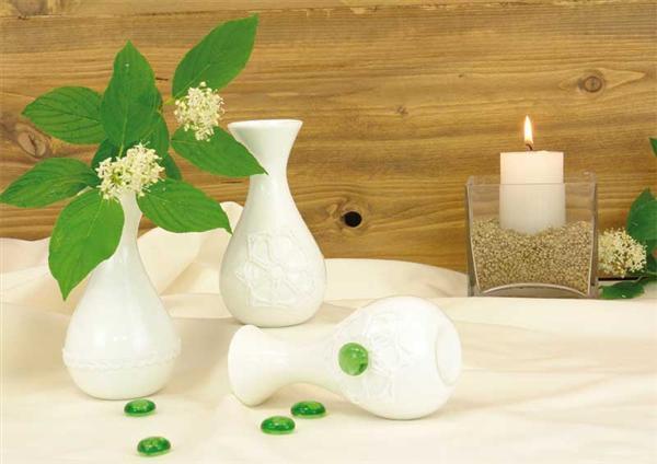 Porzellan - Vase, 13 cm