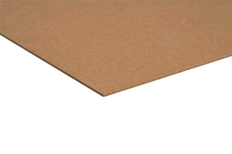 Hardboardplaat - 4 mm, 30 x 25 cm