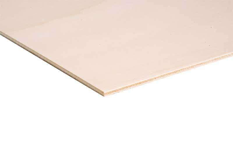 Dominoplättchen Pappel - 4 mm, 3 x 6 cm