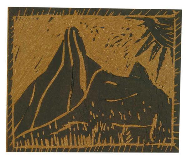 Linoleumplaat - 3,2 mm, DIN A4, 297x210 mm