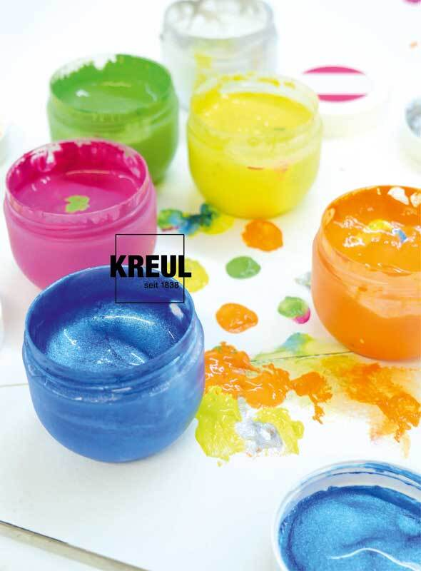 MUCKI Fingerfarben Set Glückskinder - 6 x 50 ml