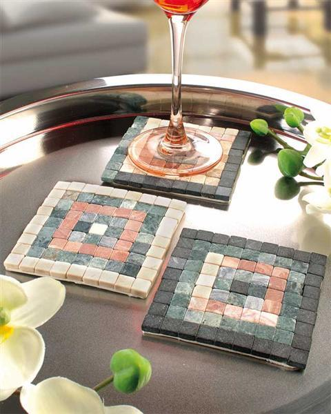 Mosaik Natursteine - 200 g, creme