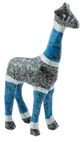 Pappmache Giraffe, 16 x 8 cm