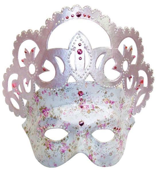 Pappmache Maske, Königin