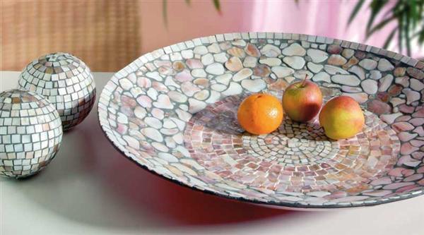 Perlmutt Mosaik - 10 x 10 mm, 200 g