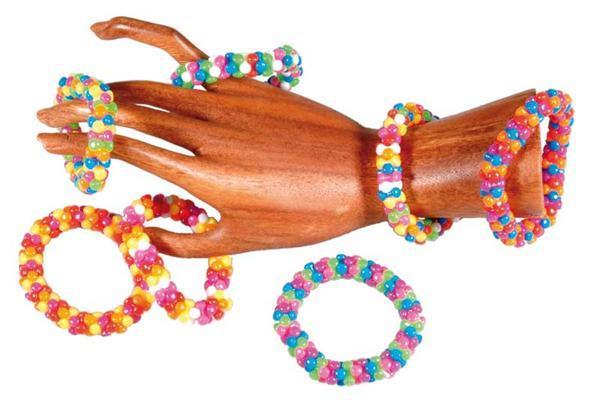 Perles plastiques - hélice, 100 g