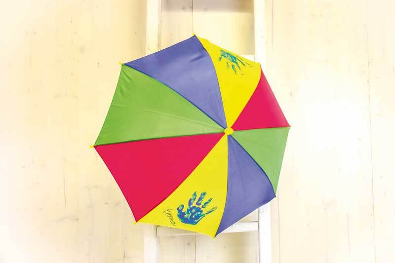 Kinderparaplu kleurrijk, Ø 69 cm