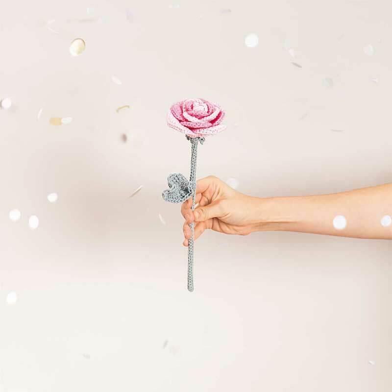 Ricorumi wol - 25 g, roze