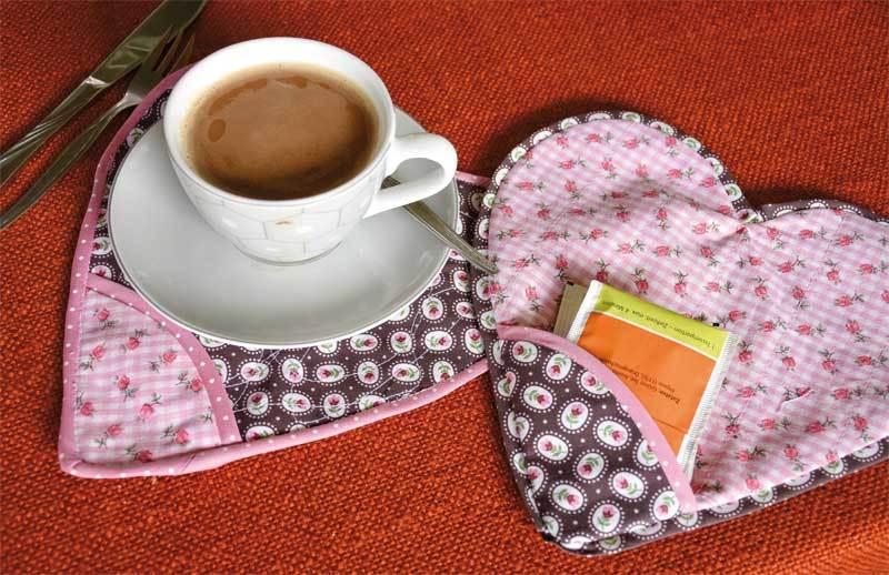 Tissu coton - Hotfoil, rayé rose/or