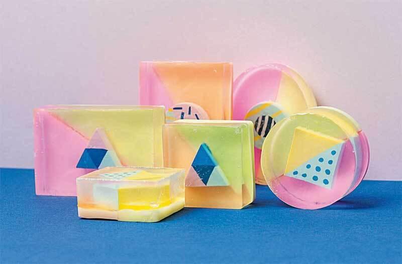 Moule à savon, rectangle
