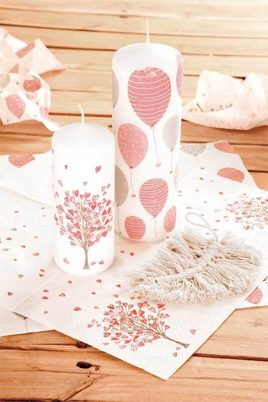 Assortiment de serviettes, Lovely