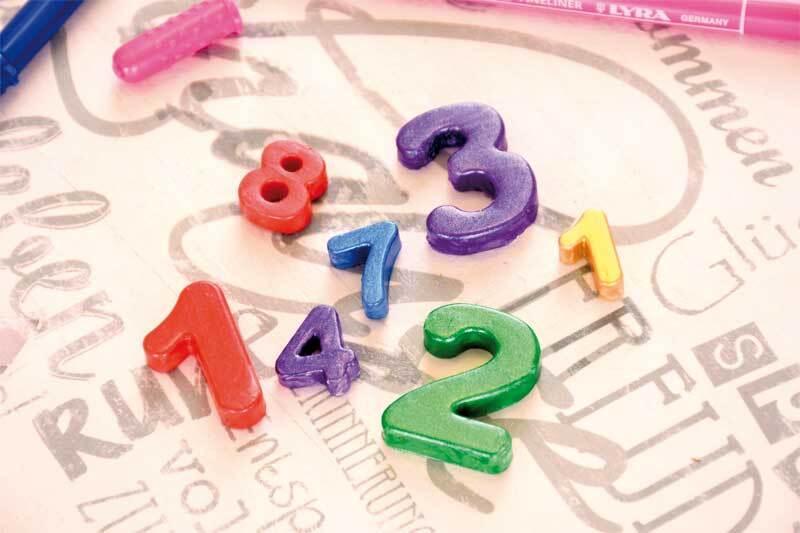 Siliconen vorm, getallen