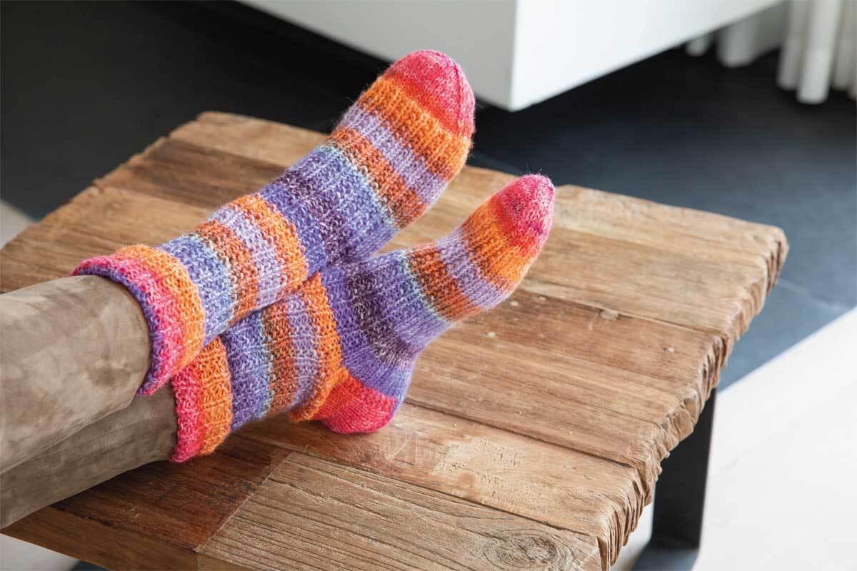 Sockenwolle Hot Socks Madena  - 100 g, tuttifrutti
