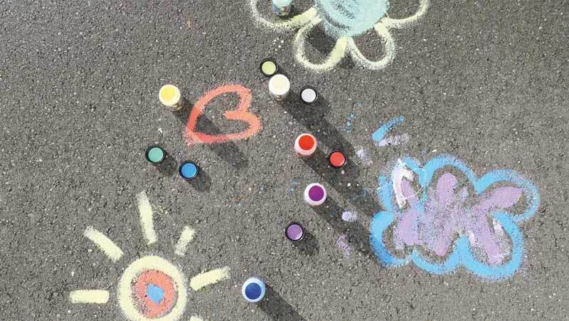 Streety Straßenmalfarben - Set, 4 Farben