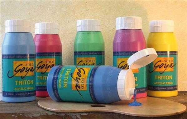 Triton Acrylic univ. verf - 750 ml, marineblauw