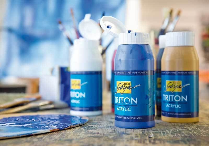 Triton Acrylique univ. - 750 ml, ocre brillant