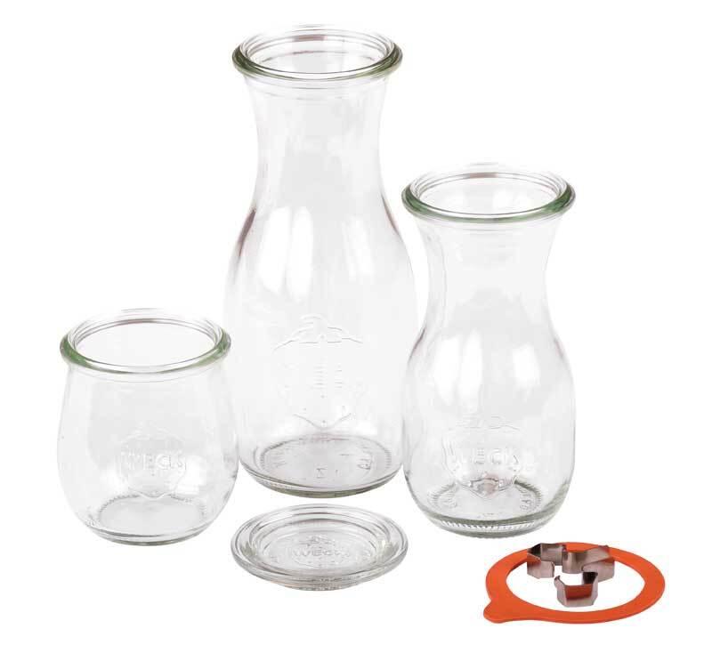 Glazen fles WECK, 500 ml