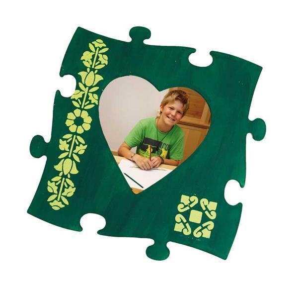 Bilderrahmen Puzzle - groß, Herz