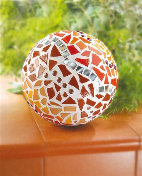 Mosaik Keramik Bits - 1000 g, rotmix
