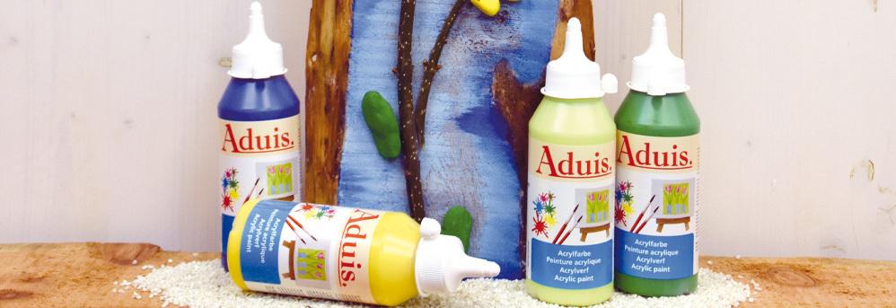 Peintures acryliques Aduis 250 ml