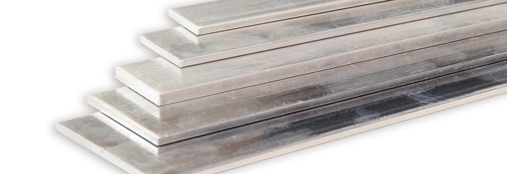 Aluminium vlakke plaat