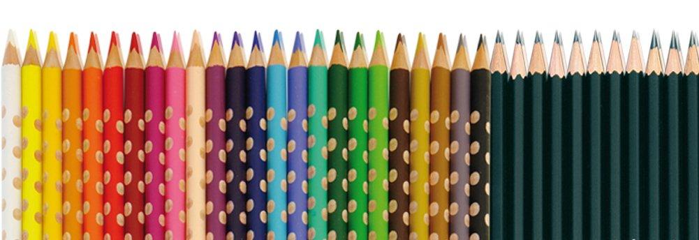 Buntstifte und Bleistifte