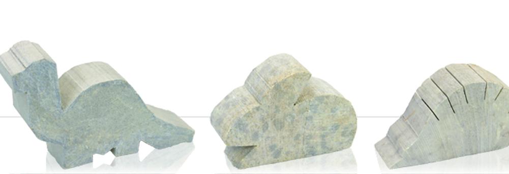 Speckstein für Figuren - Rohlinge