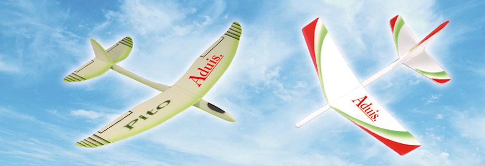 Segelflieger - Balsaholz Flugzeuge