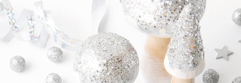 Versieren met glitter