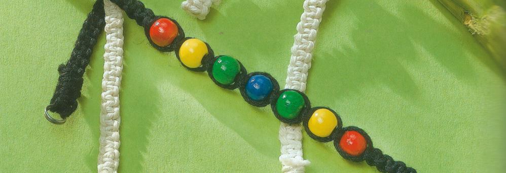 Assortiment perles en bois