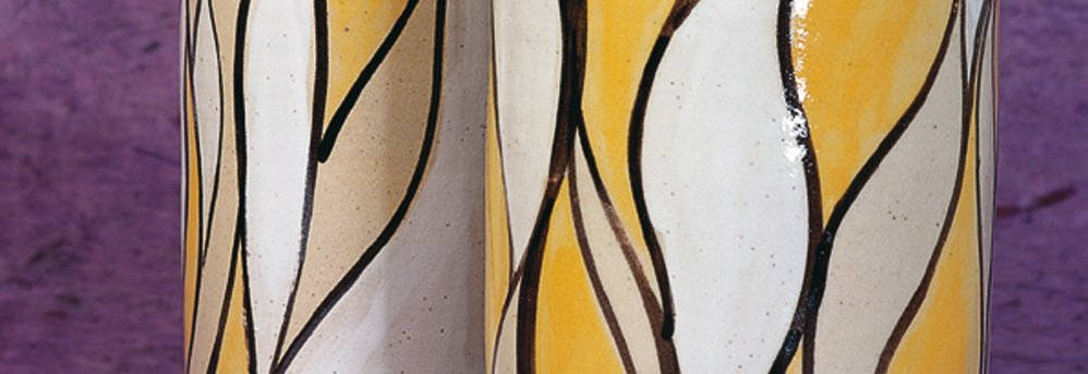 """Peinture décorative """"liquide"""" pour céramique"""