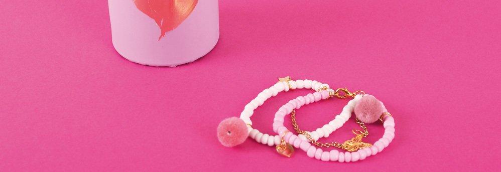 Assortiment de perles de verre