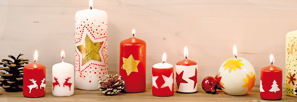 Kaarsen vormgeven & versieren