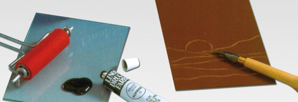 Linoleum gereedschap