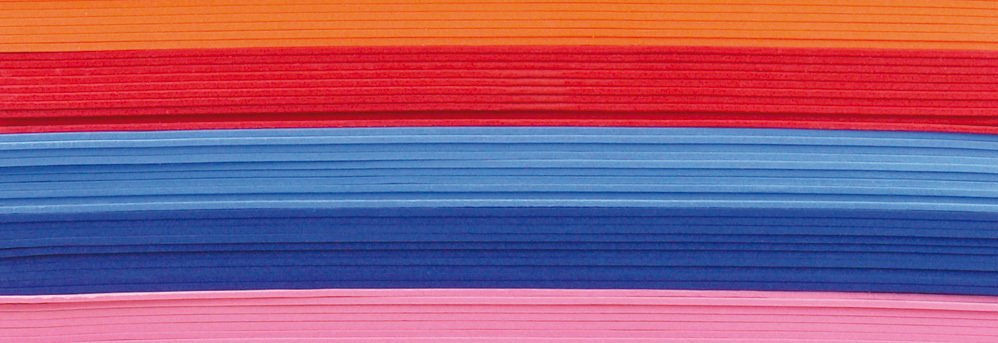 Foam rubber/ rubberplaat 10 st./pak, 2 mm dik, 20 x 29 cm