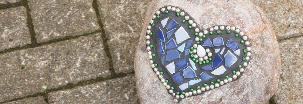 Mosaiksteine und Zubehör