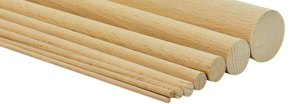 Tiges rondes en bois