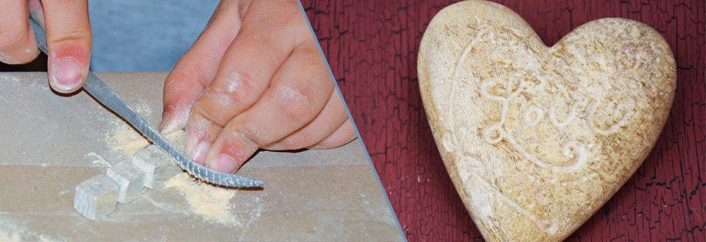 Werkzeug und Zubehör für Speckstein