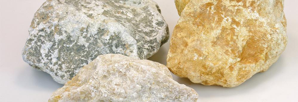 Speksteen ruwe stenen los