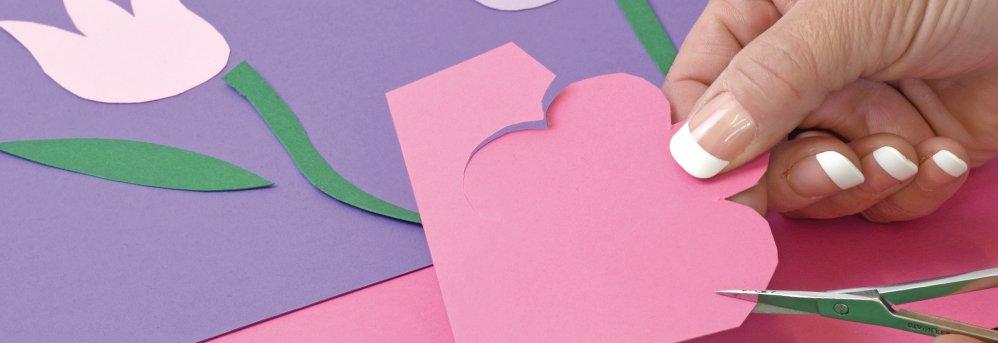 Papier à dessin couleur