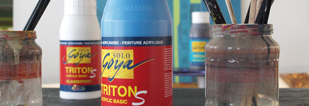 Triton S Acrylic Universalfarbe mit Glanz 750 ml