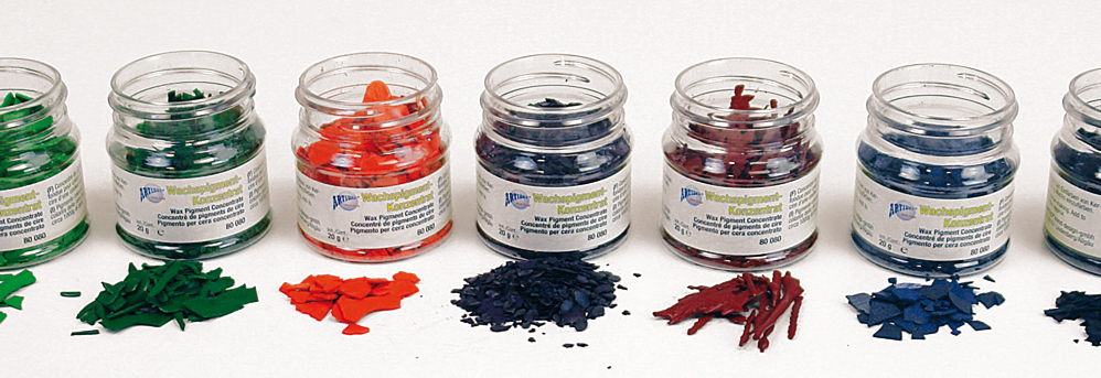 Colorants pour cire