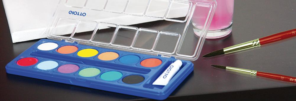Wasserfarben - Farbkasten