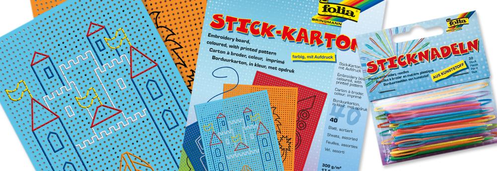 Stickkarton & Prickeln
