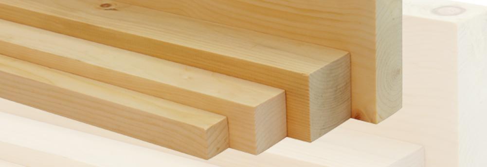 Latten & plankjes van alpendennenhout