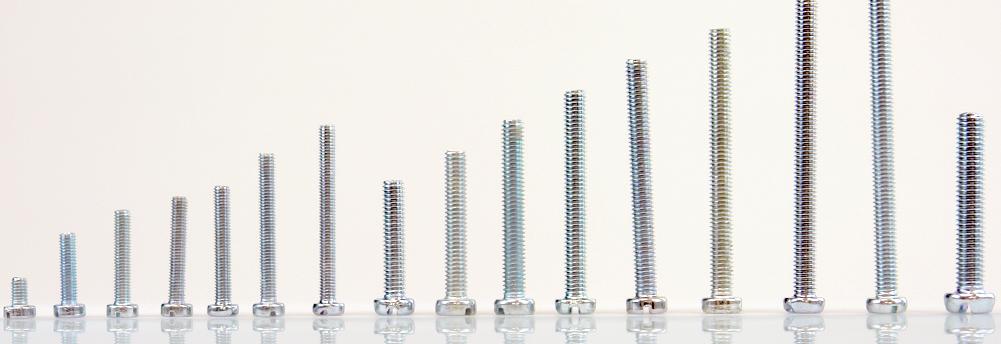 Zylinderkopfschrauben DIN 84